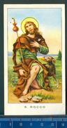 382A/944 SANTINO SANTINI ORAZIONE A SAN ROCCO ANNI 30 - Images Religieuses