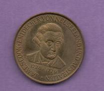 FICHAS - MEDALLAS // Token - Medal - Capitan James Cook  1728 - 1779 (1) - Allemagne