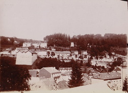 Photo 1902 Plombières Les Bains Vue Sur La Vierge De Notre Balcon - Lieux
