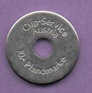 FICHAS - MEDALLAS // Token - Medal - 10 PFANDMARKE CUP-SERVICE (AUSTRIA) (1) - Allemagne