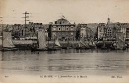 CPA 76 LE HAVRE L´Avant Port Et Le Musée - Le Havre