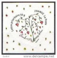 Autoadhésif(s) De France N°  149 ** Au Modèle 4129 - Coeur Sorbier - Franok Et Sabine TVP 50 Grammes - France