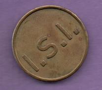 FICHAS - MEDALLAS // Token - Medal -  I.S.I. (Hot Water)  HOLANDA (1) - Allemagne