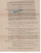 FRANC MACONNERIE - LA DEFENSE DE L'HUMANISME & L'ERE ATOMIQUE - 1952 1953 - Documents Historiques