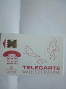 WALLIS ET FUTUNA WF2 CARTE DES ILES 80U SC5AB UT - Wallis Und Futuna