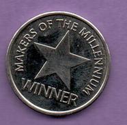 FICHAS - MEDALLAS // Token - Medal - Makers Of The Millennium  WINNER (1) - Zonder Classificatie
