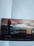 TAAF 13 NOTRE DAME DES VENTS 50U NEUVE MINT LOGO MORENO RAPPROCHE - TAAF - French Southern And Antarctic Lands