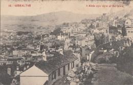 Gibraltar - Birds Eye View Of The Town - 1909 - Gibraltar