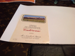 étiquette-de-vin Vin La Cadiere - Etiquettes