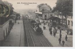 CPA 77 - FONTAINEBLEAU AVON - LA GARE - Fontainebleau