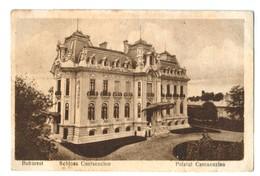 14991   CPA BUKAREST  : Schloss Cantacuzino  , Palatul Cantacuzino ! 1919   ACHAT DIRECT ! - Rumänien