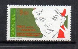 1990 Cape Verde Women Organisation  Complete Set Of 1 MNH - Kap Verde
