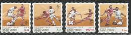 1990 Cape Verde World Cup Football Complete Set Of 4 MNH - Kap Verde