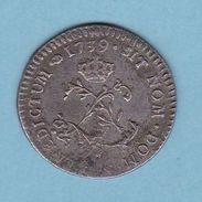 LOUIS XV DOUBLE SOL ( 2 Sous ) De 1739   Billon  REFMS 60317 - 1715-1774 Louis XV Le Bien-Aimé