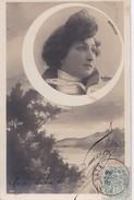 Carte Précurseur 1900 ARTISTE FEMME SIGNEE REUTLINGER / MARVILLE - Entertainers
