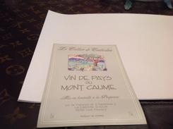 étiquette-de-vin  Vin De Pays  La Cadiere   Var - Etiquettes