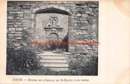 Ruine Sint-Baafsabdij - Gent - Gent
