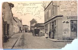 RUE TRONCHART - LES BOSSERONS - BRUNOY - Brunoy