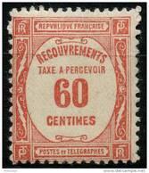 France Taxe (1927) N 58 * (charniere) - Taxes