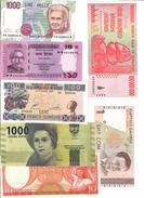 World Lot 28 UNC / AUNC Banknotes - Banconote