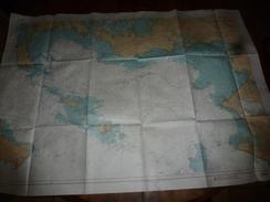 """1997 De QUIBERON Au CROISIC :  CARTE SPECIALE """"P"""" Avec Plan Et Illustrations  Avec Instructions Nautiques, Marées, Etc - Nautical Charts"""