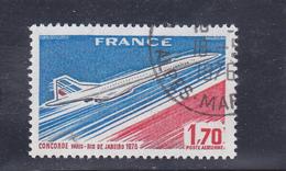 FRANCE   1976  Poste  Aérienne  Y.T. N° 49  Oblitéré - Poste Aérienne