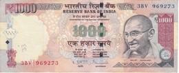 BILLETE DE LA INDIA DE 1000 RUPEES    (BANKNOTE) DIFERENTES FIRMAS - India
