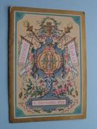 ILDEFONSE - MARIA  /  6 Septembre 1879 ( Van Tours / Hertogs ?? )  ( Melle Jeanne Coveliers / Zie Foto Voor Details ) !! - Menus