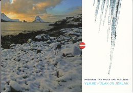 Faroe Islands MNH 2009 Presentation Pack Preserve The Poles And Glaciers - Féroé (Iles)