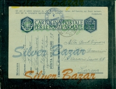 FRANCHIGIE-CARTOLINA POSTALE IN FRANCHIGIA-N.12/7-POSTA MILITARE N. 97- PER PARMA - Guerra 1939-45