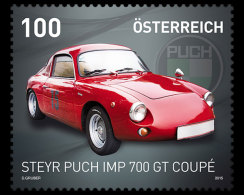 Austria 2015 Set - Steyr Puch IMP 700 GT Coupé - 1945-.... 2nd Republic