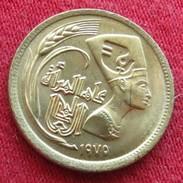 Egypt  5 Millieme 1975 FAO F.a.o. Unc - Egypt