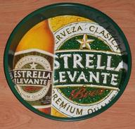 PLATEAU BIERE ESTRELLA LEVANTE - SPAIN - Dishes