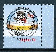GERMANY Mi.Nr.  3111 Schneemann - ESST -BERLIN -Eckrand Unten Rechts - Used - BRD
