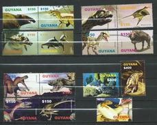 Guyana 2005 Prehistoric Animals.fauna.Stamps And Bl.stamps.MNH - Guyana (1966-...)