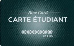 ## Carte  Cadeau  BONOBO (fidelite)  ##    Gift Card, Giftcart, Carta Regalo, Cadeaukaart - Cartes Cadeaux