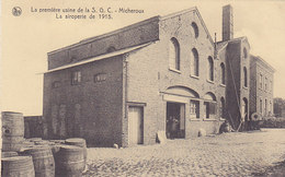 La Première Usine De La S G C - Micheroux - La Siroperie De 1915 (animée, Photo J. Werres) - Soumagne