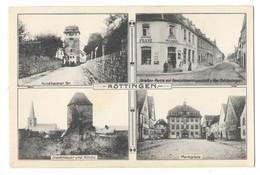 ROTTINGEN (Allemagne) Carte à 4 Vues - Germany
