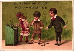 5 Cards Pub Guérin Boutron Choc Besnier Le Mans Couzan Source Brault Le Jeu De Tonneau Game Of Barel - Autres