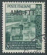 1949 TRIESTE A USATO TRINITA - L12 - 7. Triest
