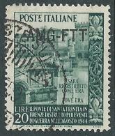 1949 TRIESTE A USATO TRINITA - L16 - 7. Triest