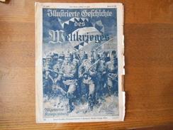 WUFTRIERTE GESCICHTE DES MELTKRIEGES 1914/17 145. ULLGEMEINE KRIEGSZEITUNG - Zeitungen & Zeitschriften