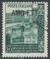 1949 TRIESTE A USATO TRINITA - L21 - 7. Triest