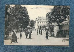CPA Animée  De L'avenue Gambetta à AURILLAC - Aurillac