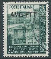 1949 TRIESTE A USATO TRINITA - L35 - 7. Triest