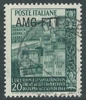 1949 TRIESTE A USATO TRINITA - L37 - 7. Triest
