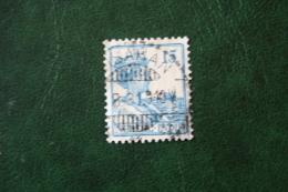15 Ct Koningin Wilhelmina NVPH 118 1929 1913-1932 Gestempeld / Used INDIE / DUTCH INDIES - Netherlands Indies