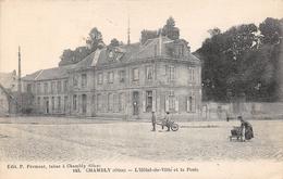 CHAMBLY - L'Hôtel De Ville Et La Poste - France