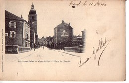 PORT-sur-SAÔNE: Grande-Rue - Place Du Marché - Altri Comuni