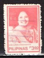 FILIPPINE - 1984 - Aurora Aragon Quezon (1888-1949), Former First Lady - USATO - Filipinas